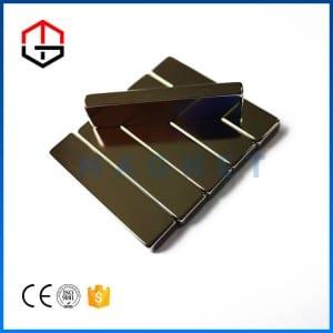 Source manufacturer square magnet bar magnet permanent magnet Nd-Fe-B coating good price low