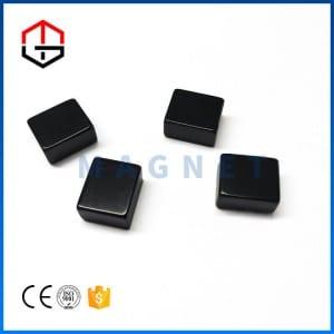 Factory Customized China Black Epoxy Large Radial Magnetized Neodymium Ring Magnet