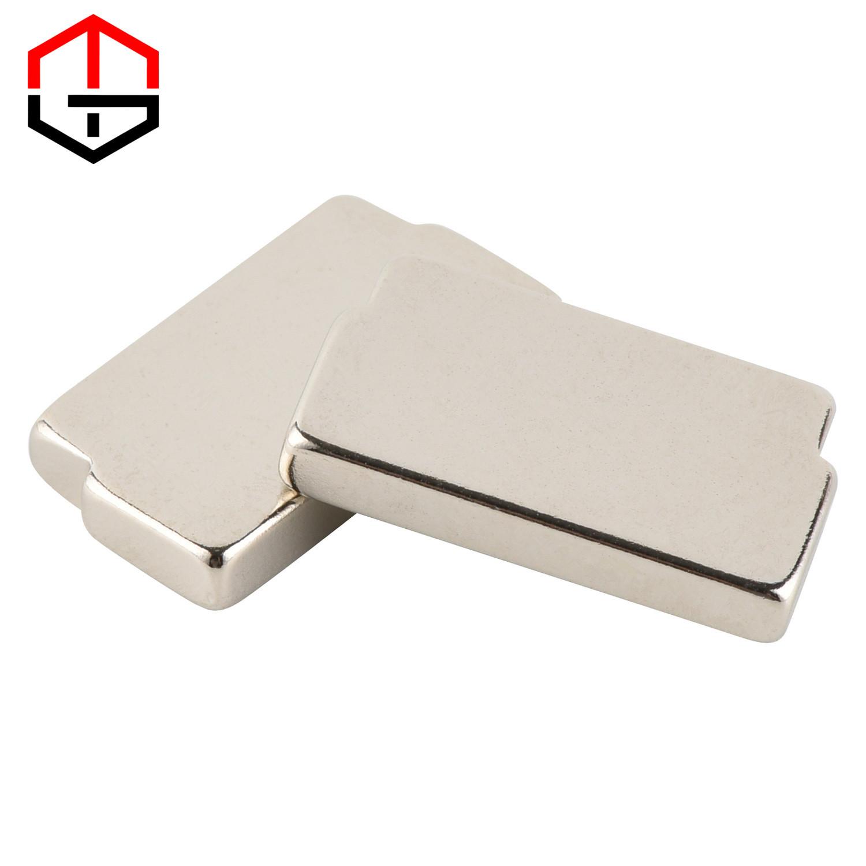 Factory Supply Neodymium Cylinder Magnet Magnetic Rods - Shaped Square Neodymium Iron Boron Magnet – Meigot