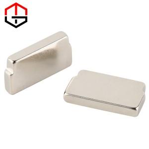 Shaped Square Neodymium Iron Boron Magnet